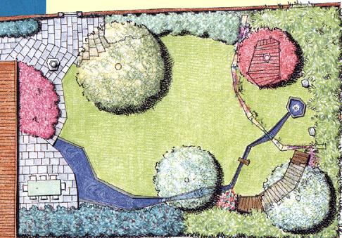 Il giardino dei piccoli lo penso cos for Laghetto balneabile progetto