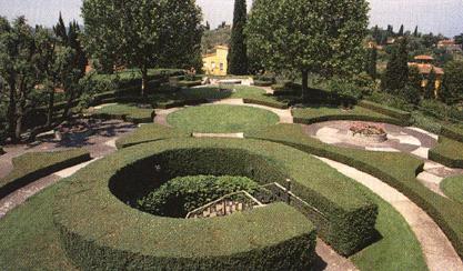 Il parterre un giardino da guardare for Pietro porcinai